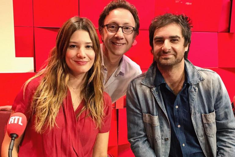 Alice Pol, Grégory Montel et Stéphane Bern