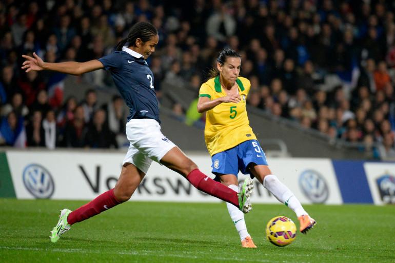 L'équipe de France de football féminine s'est imposée face au Brésil mercredi 26 novembre.