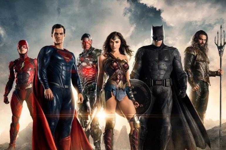 L'équipe de la Justice League
