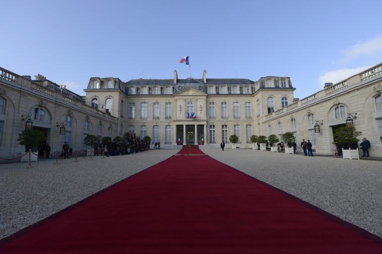 Le Palais de l'Élysée (Illustration)