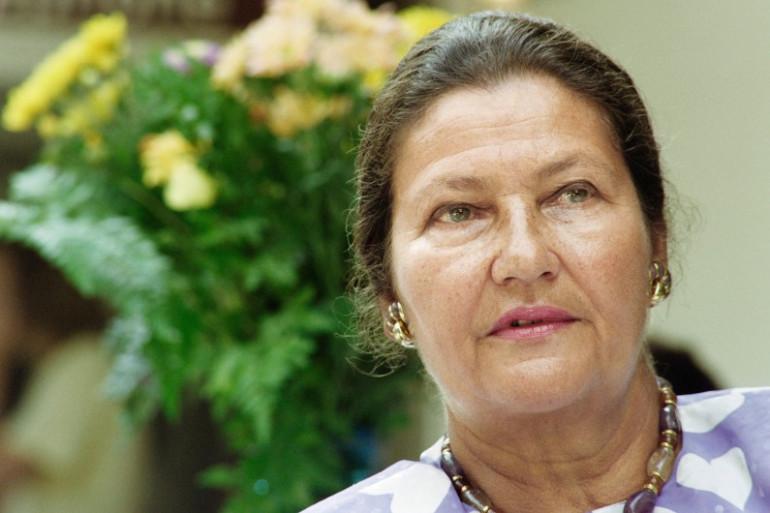 Simone Veil, le 28 août 1992 à La Garde-Freinet