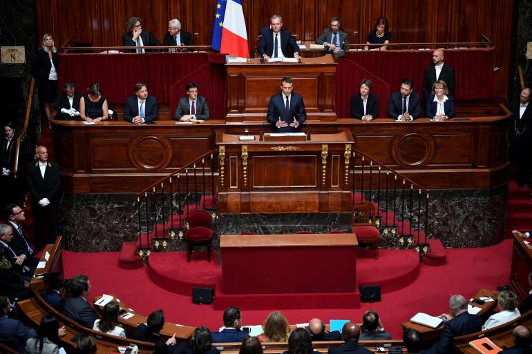 Emmanuel Macron, le 3 juillet 2017 au château de Versailles