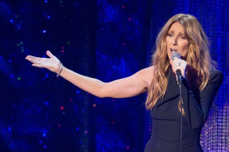 Céline Dion est actuellement en tournée