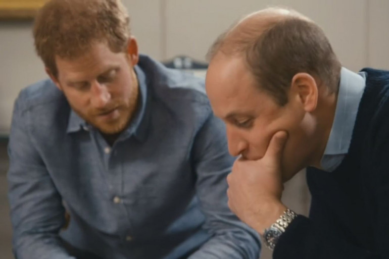 """Les princes Harry et William dans """"Diana, Our Mother: Her Life and Legacy"""""""