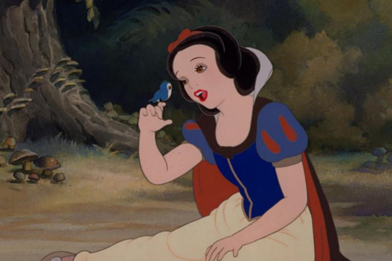 """Une image tirée du long-métrage """"Blanche-Neige et les 7 nains"""", de Walt Disney"""