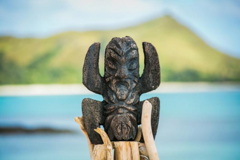 """Le totem de """"Koh-Lanta : le choc des générations"""""""