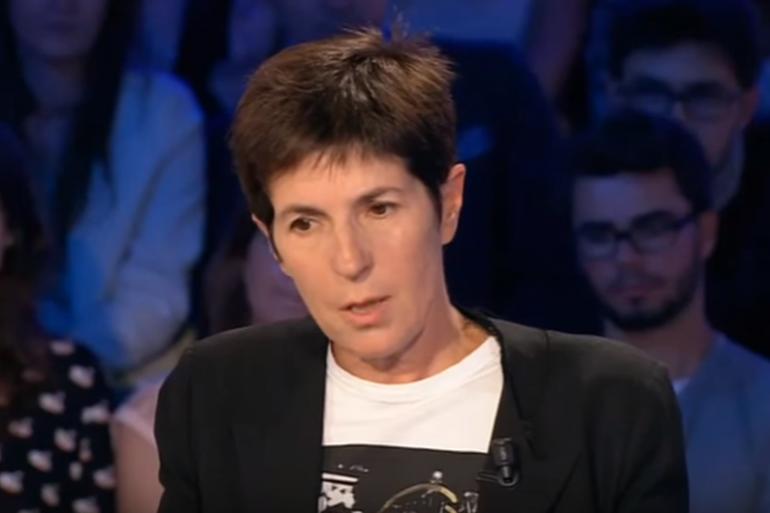Christine Angot dans On n'est pas couché, le 29 août 2015