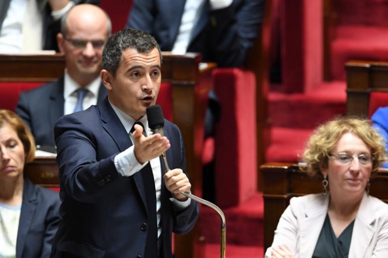 Gérald Darmanin, à l'Assemblée nationale le 12 juillet 2017.