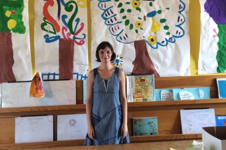 Mary Lapendéry, 35 ans, est institutrice dans un village de la Loire