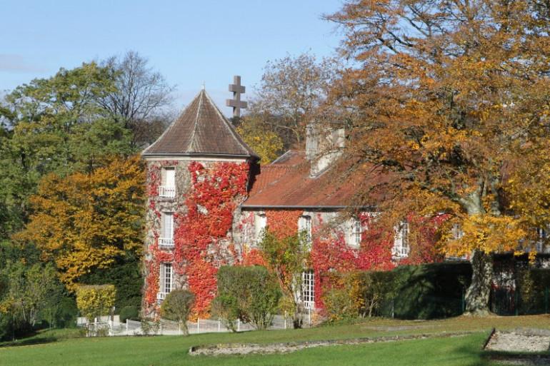 Une vue de la Boisserie, demeure du général de Gaulle à Colombey-les-Deux-Églises