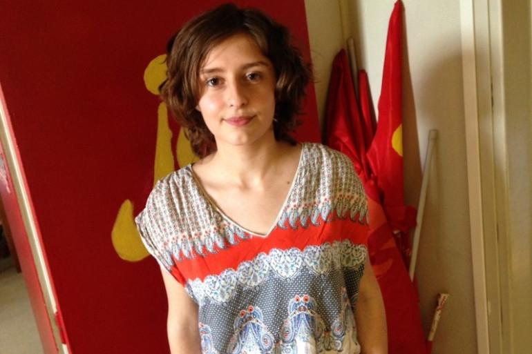 Clémentine, 19 ans, militante très engagée