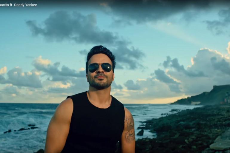 Capture d'écran du clip Despacito