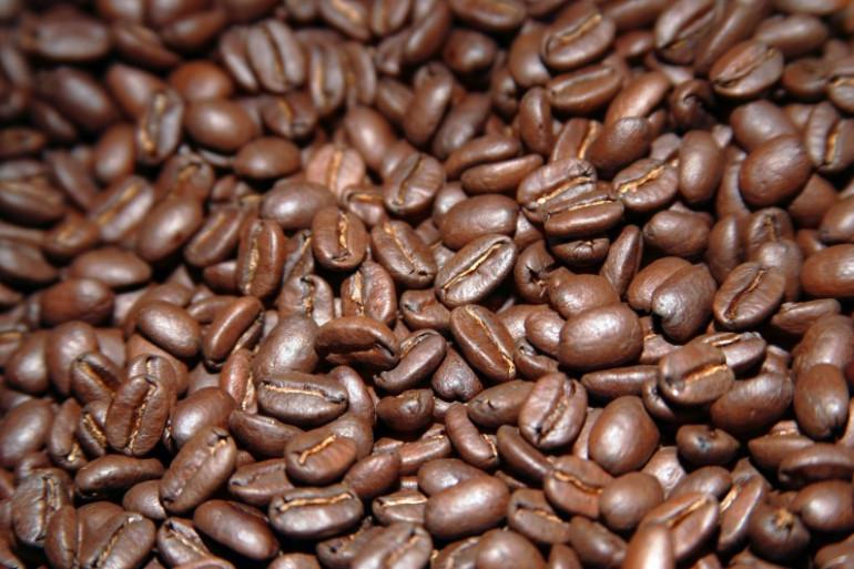 Des grains de café (Illustration)