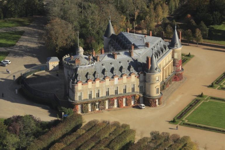 Une vue du château de Rambouillet