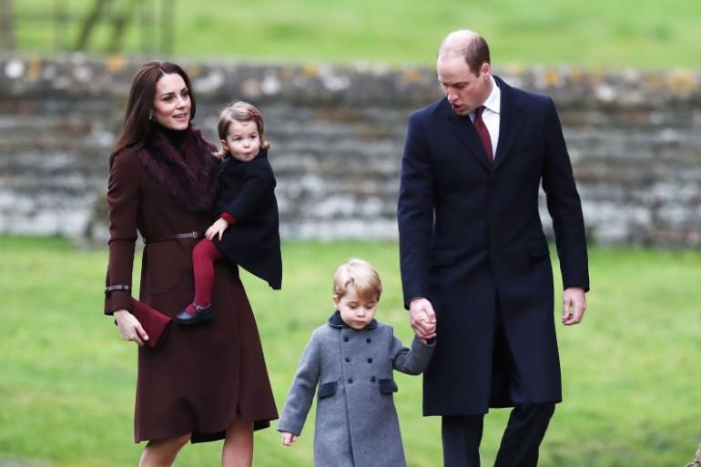 La famille royale a dévoilé un adorable portrait du Prince George