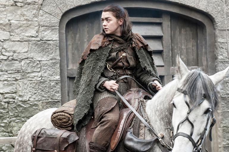 """Arya dans l'épisode 2 de la saison 7 de """"Game of Thrones"""""""