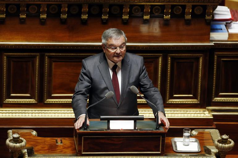 Le sénateur Michel Mercier, le 16 mars 2016 à Paris