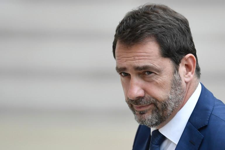 Christophe Castaner, porte-parole du gouvernement, en mai 2017 à l'Élysée