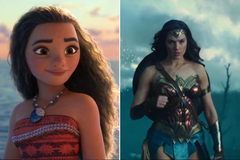 Wonder Woman et Vaiana peuvent-elles être la même personne ?
