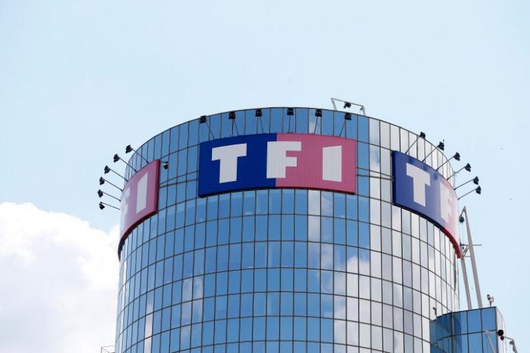 La Tour TF1 à Boulogne-Billancourt (Hauts-de-Seine).