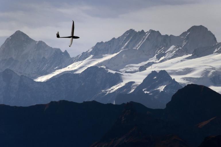 Photo d'illustration - Un planeur en Suisse