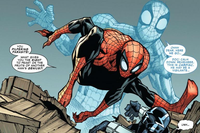 2013 - Le Superior Spider-Man , un nouveau héros plus sombre