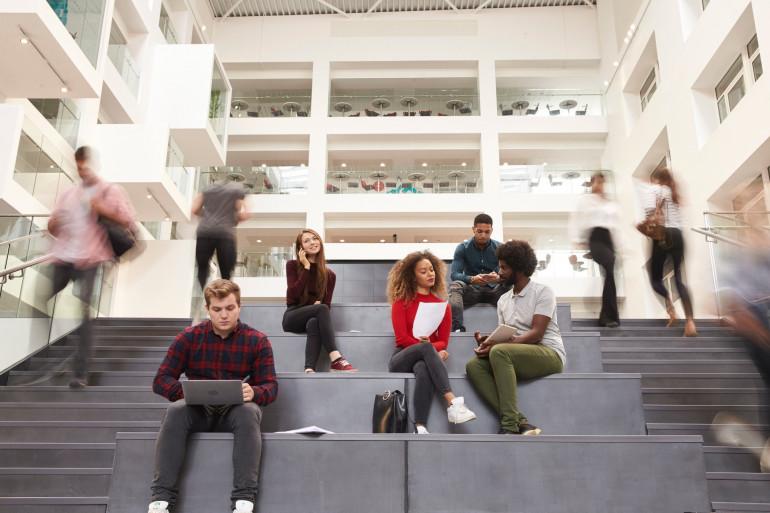 (illustration) Des étudiants
