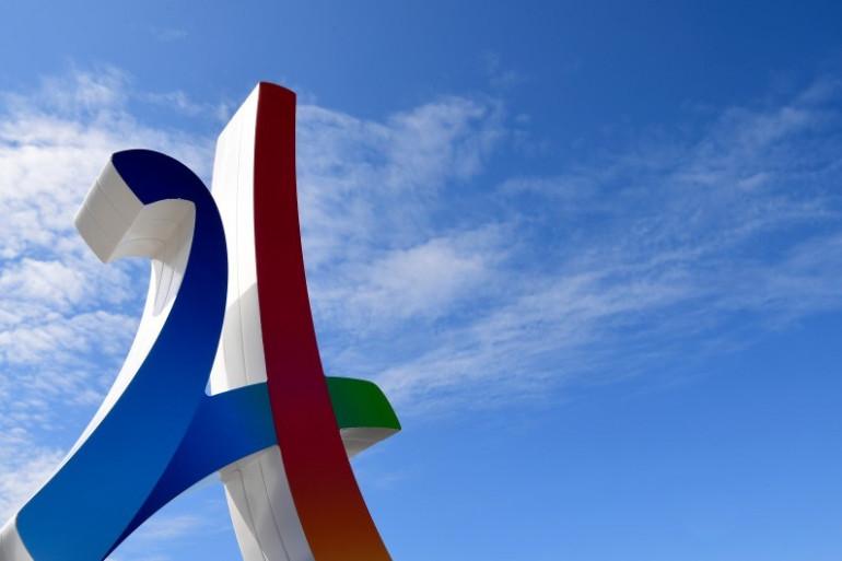 Un logo de la campagne en faveur de Paris-2024
