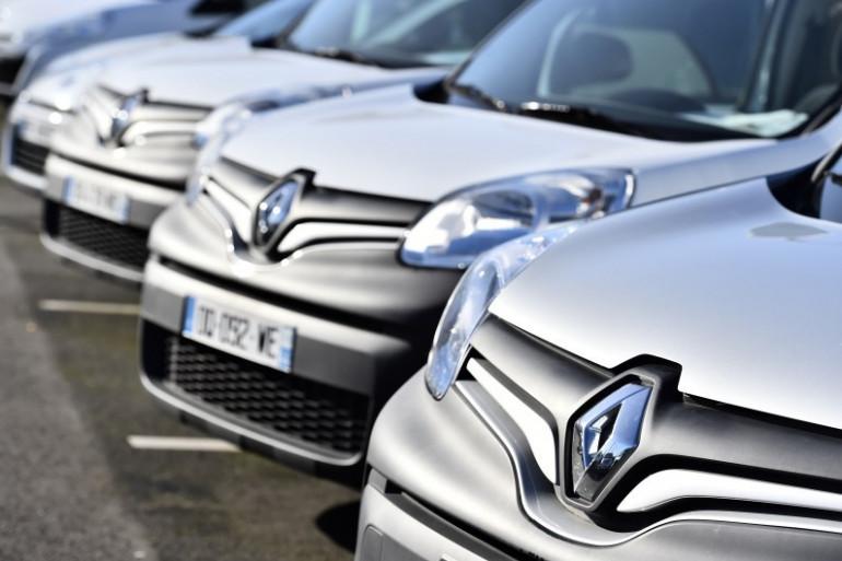 Des voitures Renault (illustration)