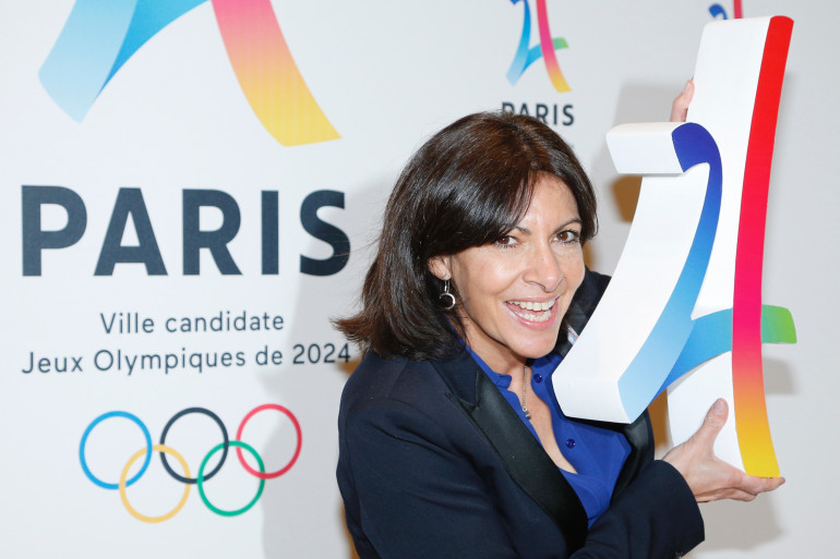 La maire de Paris Anne Hidalgo le 17 février 2016