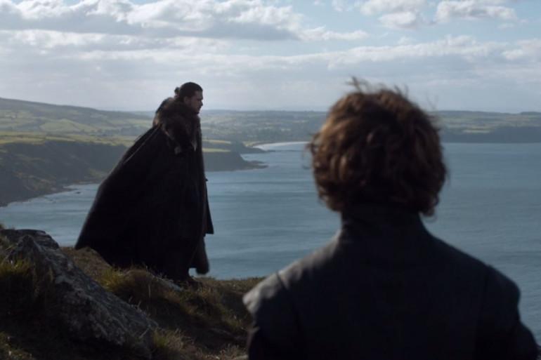 """Jon Snow et Tyrion Lannister dans la saison 7 de """"Game of Thrones"""""""