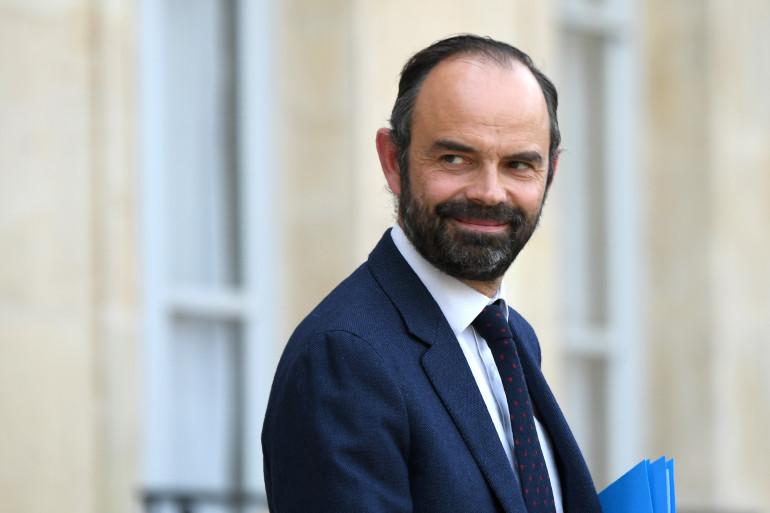 Édouard Philippe, à l'Élysée le 7 août 2017
