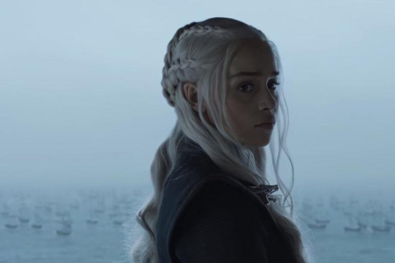 """Daenerys depuis Peyredragon dans l'épisode 2 de la saison 7 de """"Game of Thrones"""""""