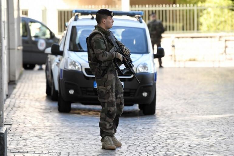 Image d'illustration - Un militaire de l'opération Sentinelle