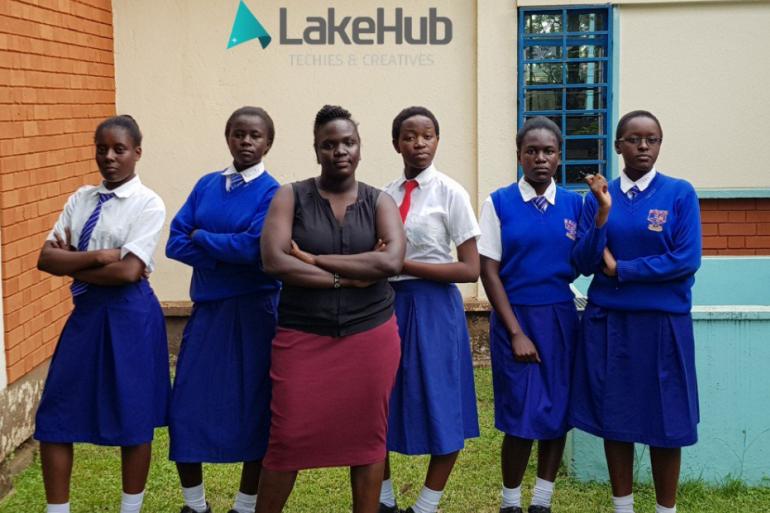 Cynthia Otieno, Purity Achieng, Mascrine Atieno, et Ivy Akiny sont les adolescentes derrière Icuti
