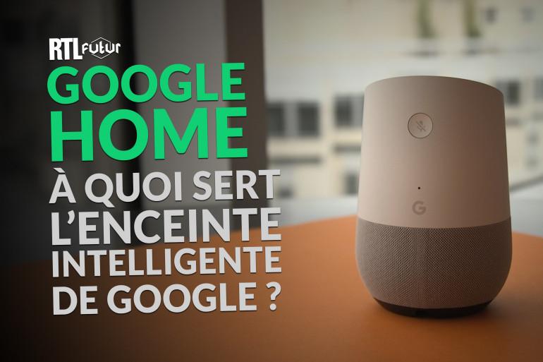 Google Home est disponible en France depuis le 3 août