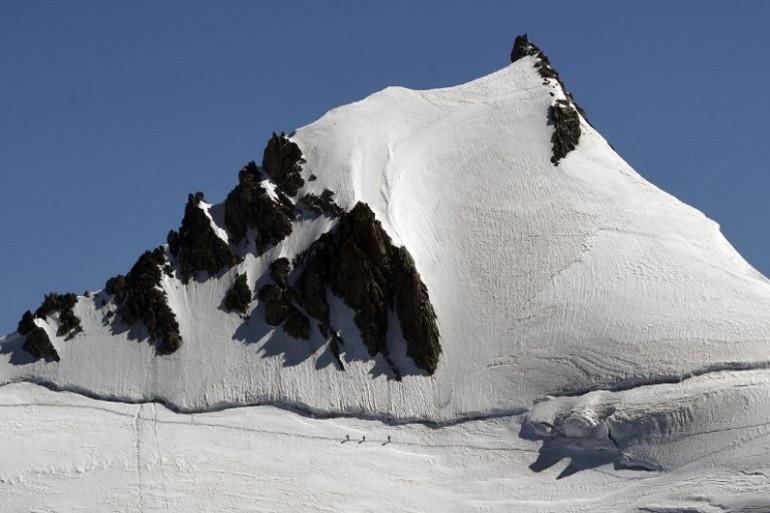 Le Mont-Blanc dans les Alpes