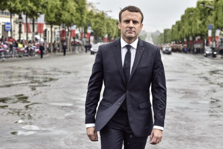 Les 100 jours de baisse dans l'opinion d'Emmanuel Macron