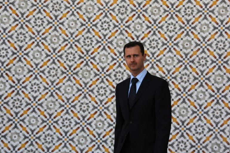 Bachar al-Assad, président syrien, en juin 2009