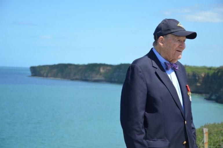 George Klein n'a pas débarqué en Normandie.