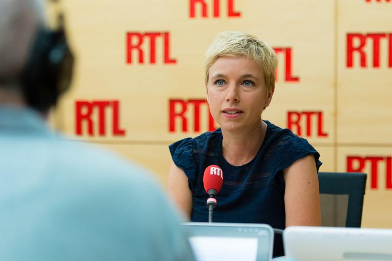 Clémentine Autain, invitée de RTL le 24 août 2017