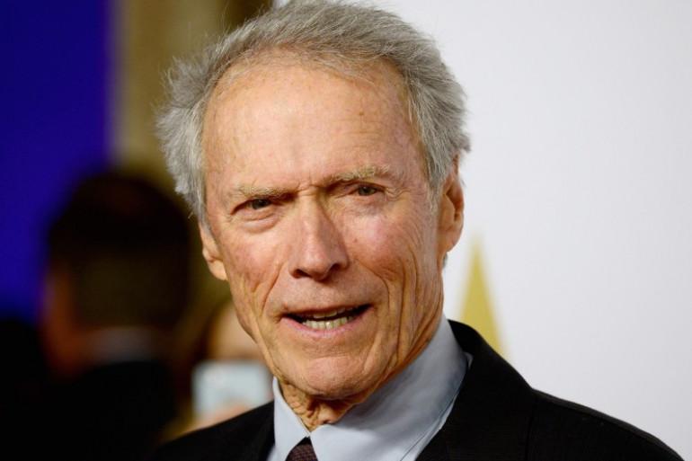 Clint Eastwood en 2015 lors de la 87e cérémonie des Oscars