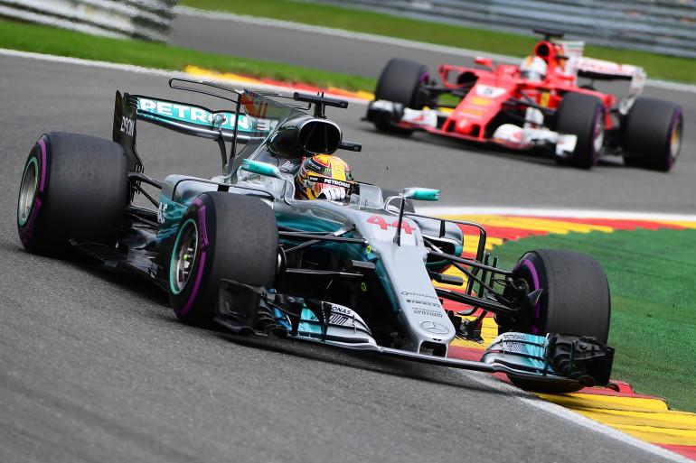 Lewis Hamilton s'impose pour la 5e fois cette saison en Belgique, dimanche 27 août.