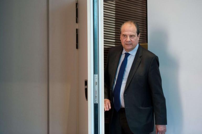 Jean-Christophe Cambadélis, le 9 mai 2017 à Paris