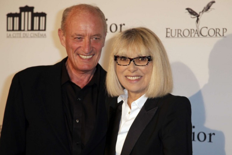 Mireille Darc et son mari Pascal Desprez