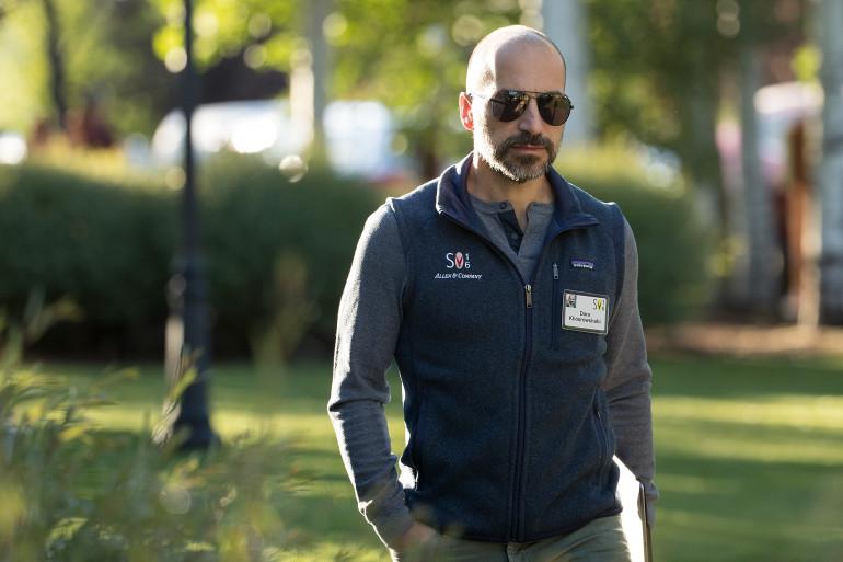 Dara Khosrowshahi hérite d'une mission compliquée à la tête d'Uber