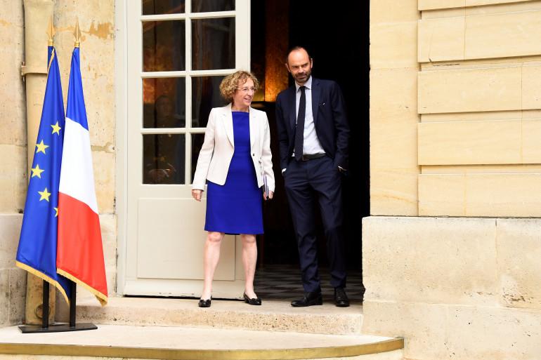 Muriel Pénicaud et Édouard Philippe, le 24 juillet 2017