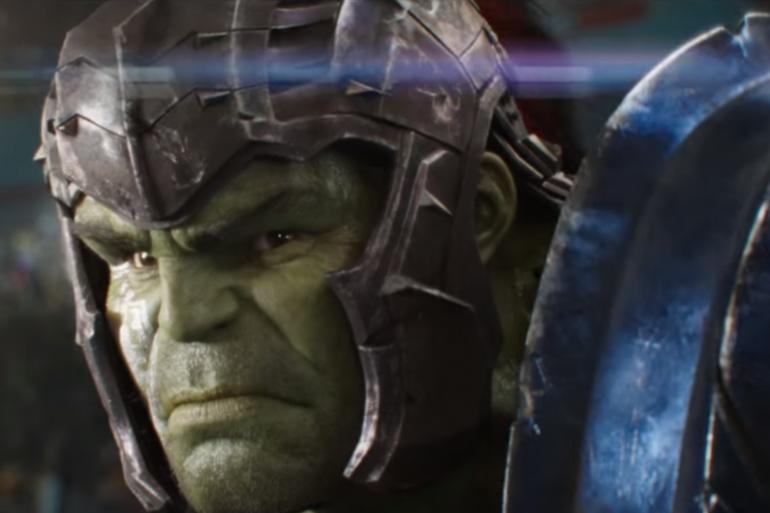 """Hulk en gladiateur dans """"Thor : Ragnarok"""""""