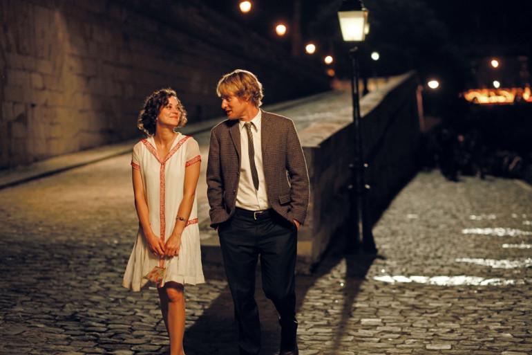 """Marion Cotillard et Owen Wilson dans """"Minuit à Paris"""", de Woody Allen"""