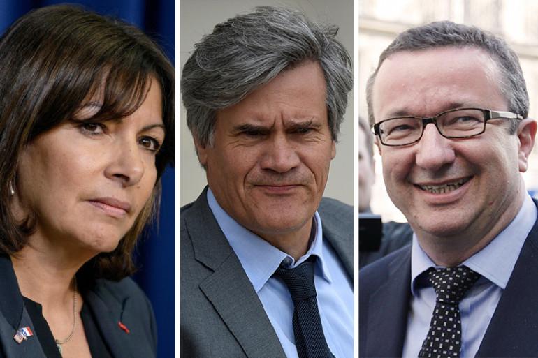 Anne Hidalgo, Stéphane Le Foll, Christian Paul